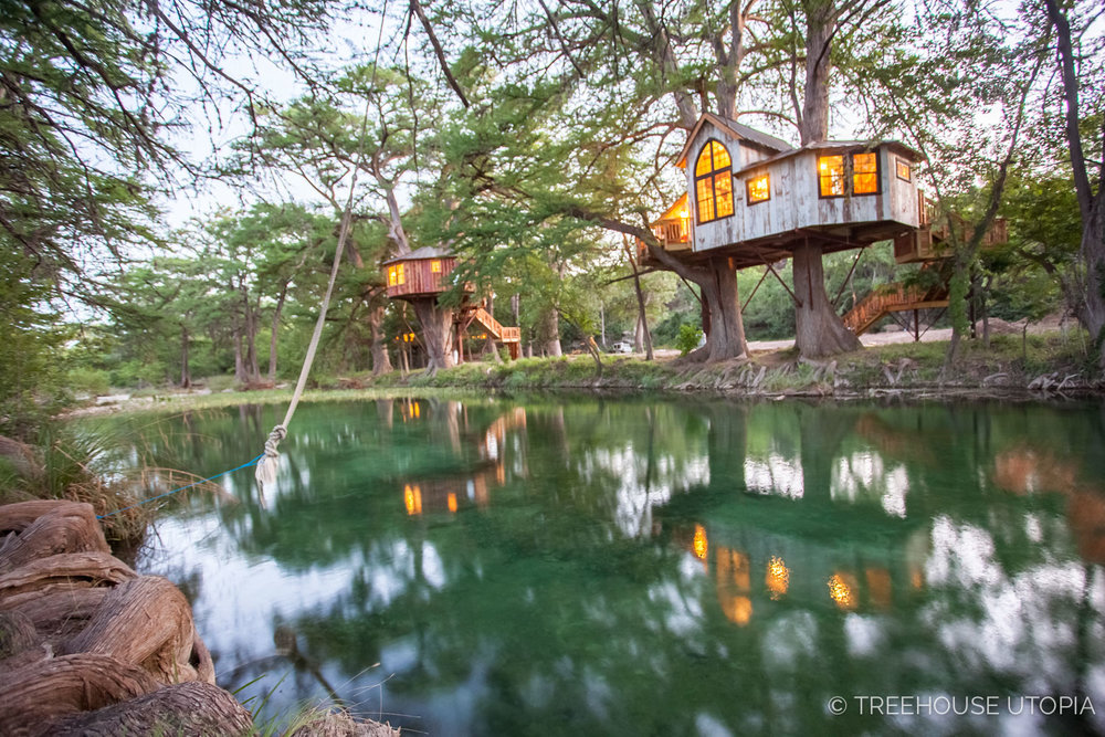 Treehouse Utopia In Texas Hill Country Book Of Cabins